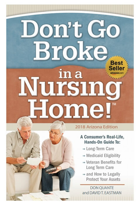don't go broke in a nursing home book cover